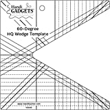 Handi Quilter 60 Degree Wedge Template for Quilting