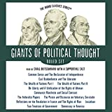 Giants of Political Thought Series (Audio Classics)