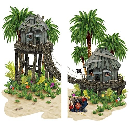 - Beistle Company - Pirate Hideaway Prop Add-On