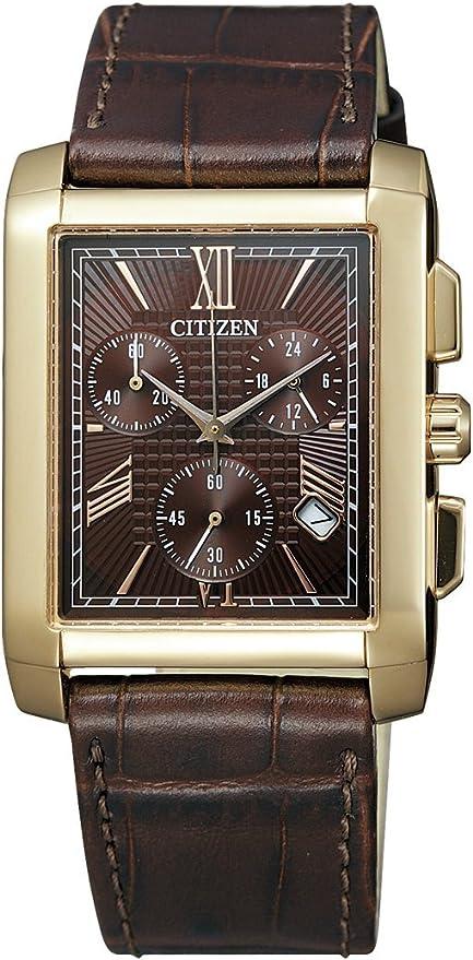 [シチズン]CITIZEN 腕時計 Citizen Collection シチズン コレクション Eco-Drive エコ・ドライブ スクエアモデル AT0563-10X メンズ