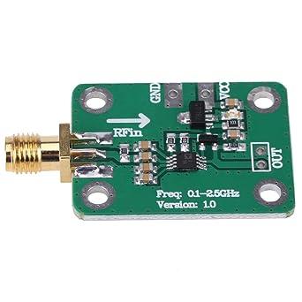 Detector logarítmico 0.1 - medidor de potencia de medición de cabeza femenina de RF SMA de