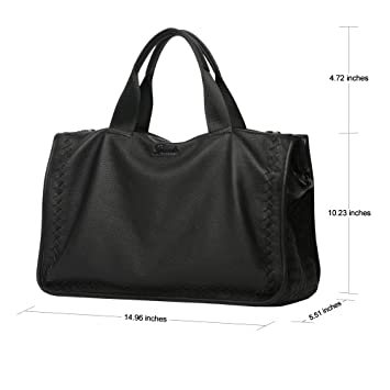 Dante Leisure Top Grain Goat Skin Clutch Men's Weave Leather Handbag  Crossbody Messenger Bag: Amazon.co.uk: Luggage