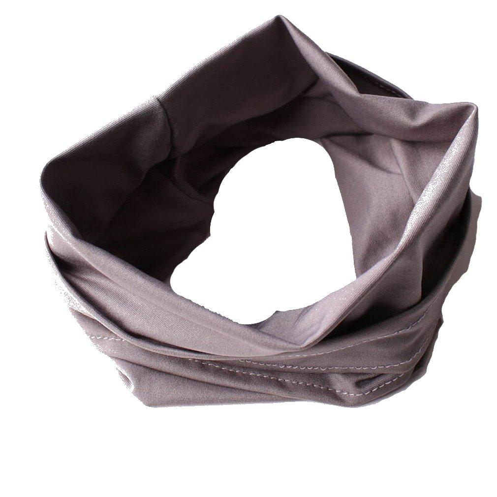 Hengsong Femmes Sport Yoga Bandeau Elastique Extensible Serre-tête Cheveux Bande Lady Turban Cheveux Accessoire MF3400