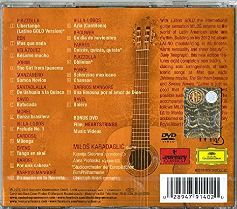 Latino Gold: Milos Karadaglic: Amazon.es: Música