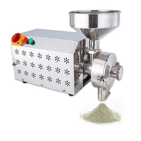 110V Multifunction Electric Mill Grinder Heavy Duty Grain Dry Wheat Feed+Funnel