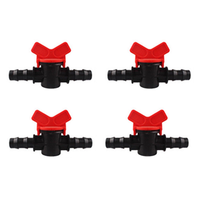 10X In Linie Ventil Schalter Schlauch Bewässerung Kunststoffkupplung Rohr 16MM