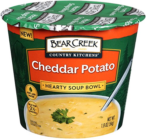 Bear Creek Hearty Soup Bowl, Cheddar Potato, 1.9 Ounce (Pack of 6)