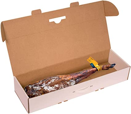 Kartox | Caja para jamon |Caja de cartón para paleta de jamón ...