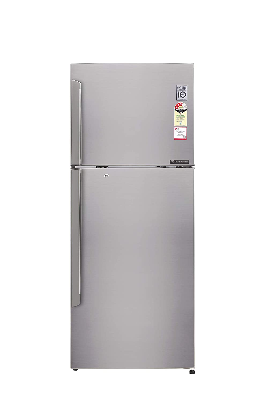 Lg 420 L 4 Star Frost Free Double Door Refrigeratorgl I472qpzx Refrigerator Electrical Wiring Diagram Pdf I472qpzxdpzzebn Shiny Steel Inverter Compressor Home Kitchen