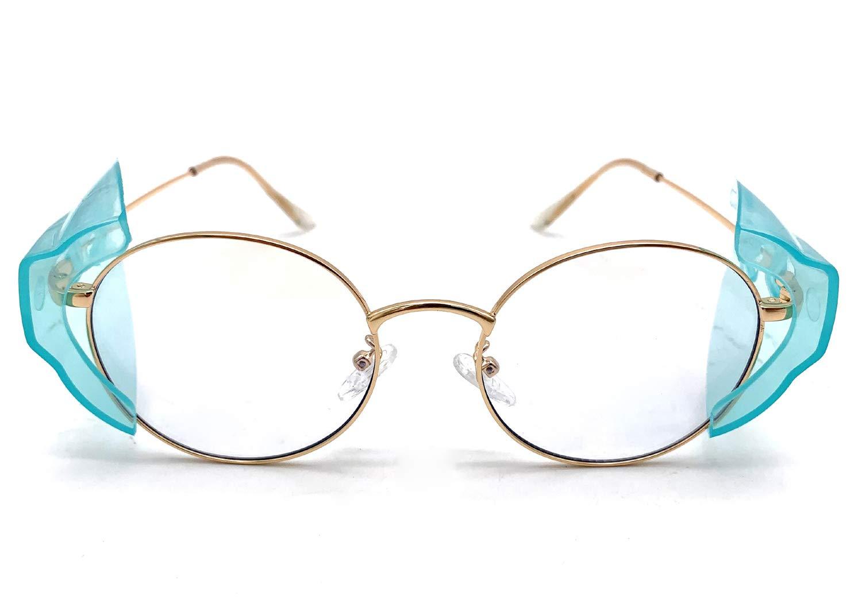 Para Transparentes Protectores Sol Tamaño Laterales De Gafas OkwPiTZuX