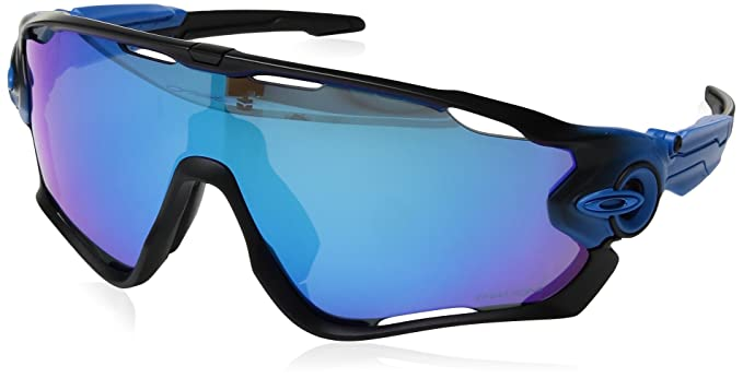 b22086d024 Image Unavailable. Image not available for. Colour  Oakley Men s Jawbreaker  Polarized Iridium Rectangular Sunglasses ...