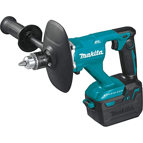 Makita XTU02Z 18V LXT Lithium-Ion Brushless Cordless 1 2 Mixer, Tool Only