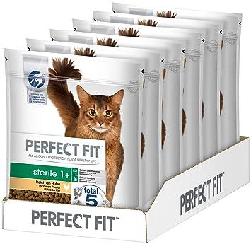 Perfect Fit Katzenfutter Trockenfutter Pro Sterile Fur