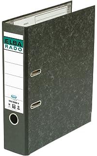 Elba Rado Clásico - Archivador palanca forrado en papel jaspeado, Fº