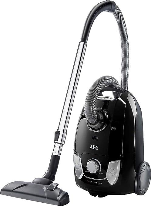 AEG VX4-1-EB Aspirador con Bolsa, 750 W, 3 litros, Negro ...