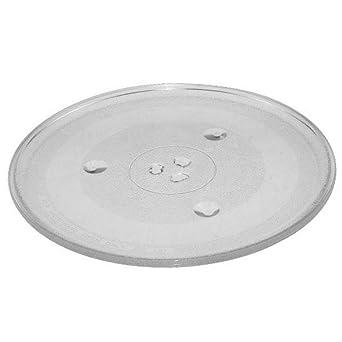 Plato giratorio de cristal – horno microondas – Ariston Hotpoint, Whirlpool