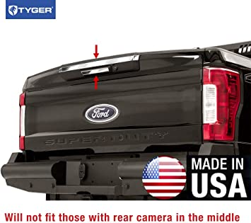 For Ford SUPER DUTY F250 F350 F450 2008-2016 Chrome Tailgate Cover W Keyhole+CAM