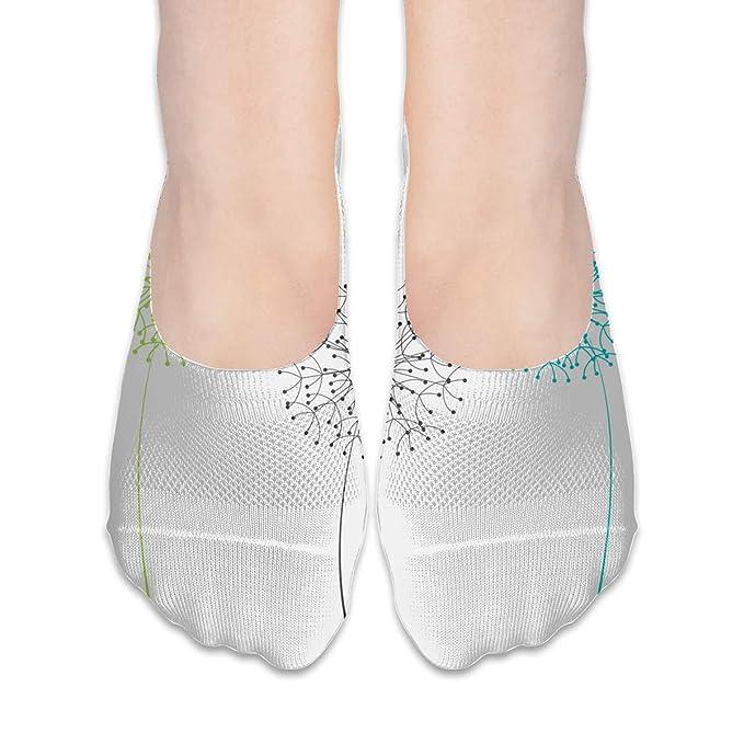 cheaper b7a49 e1521 Dandelion Running Socks/Hidden Flat Boat Socks Non Slip Flat ...