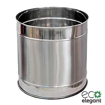 Eco Elegant Ss Stainless Steel Planter Without Perforation 15 X15