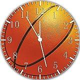 Basketball Borderless Frameless Wall Clock X32 Nice For Decor Or Gifts