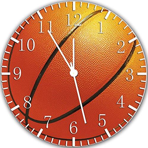 Borderless Basketball Frameless Wall Clock X32 Nice for Deco