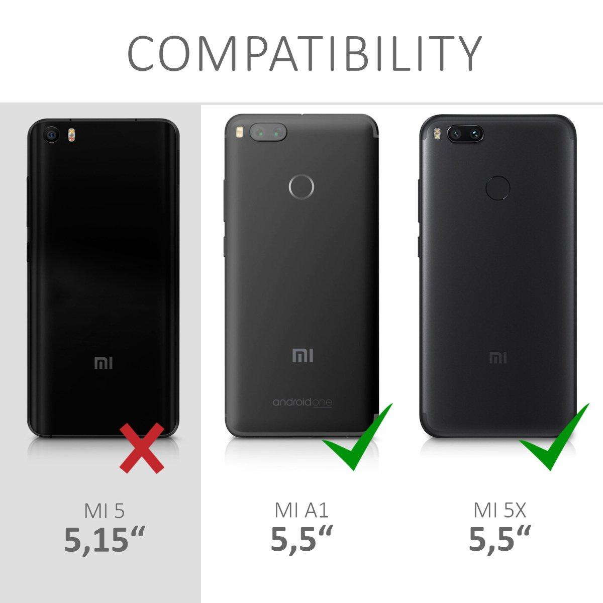 Amazon.com: Kwmobile - Carcasa para Xiaomi Mi 5X / Mi A1 ...