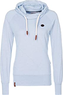 Naketano Schmierlappen Jeck II W hoodie blue heather