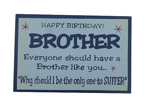 Swish 1 Targa In Legno Per Compleanno Fratello Di A Forma Di Cuore