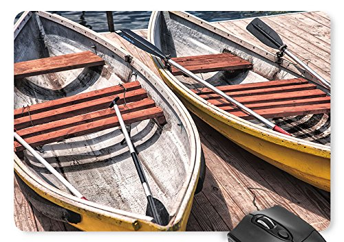 Boat, Paddle Mouse Pad 11.8×9.8 inches Game Mouse Mat
