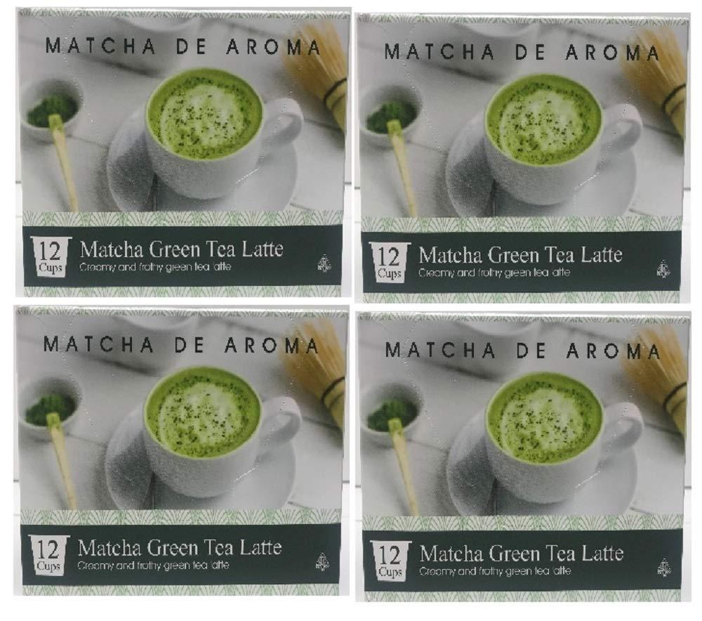 Matcha Green Tea Latte, 48 Single Serve Cups