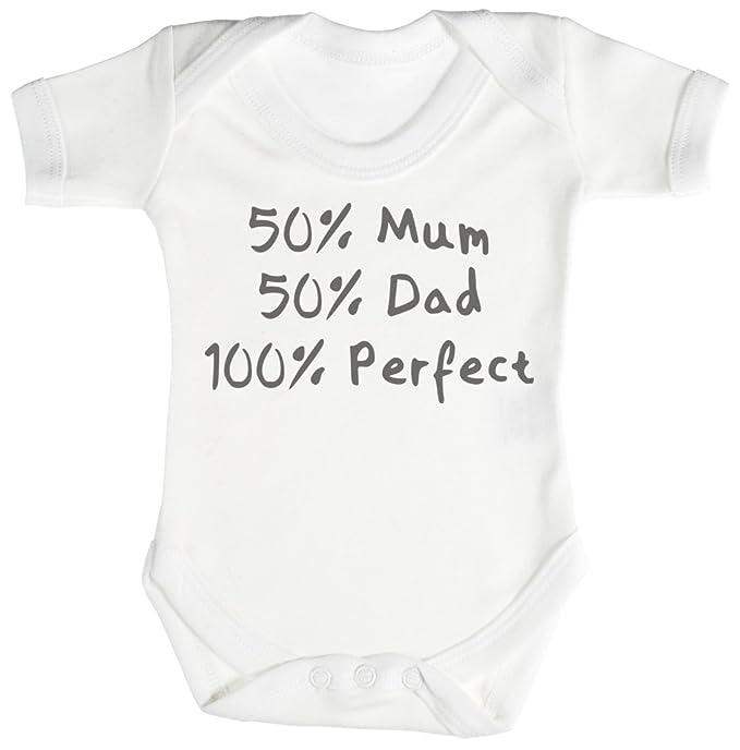7e9f3ec75 Personalizados bebé 50% 50% Design Camisillas para bebé - body para bebé  niño -