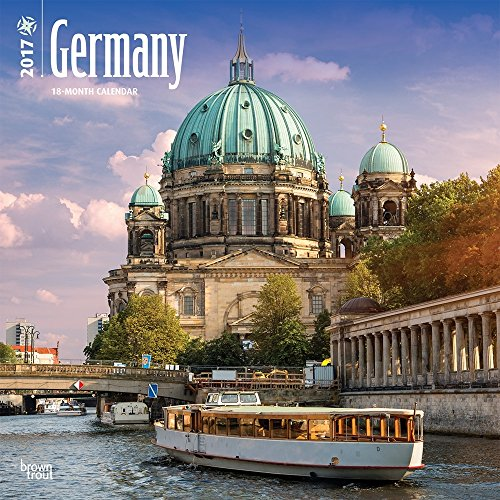 Germany - 2017 Calendar 12 x 12in