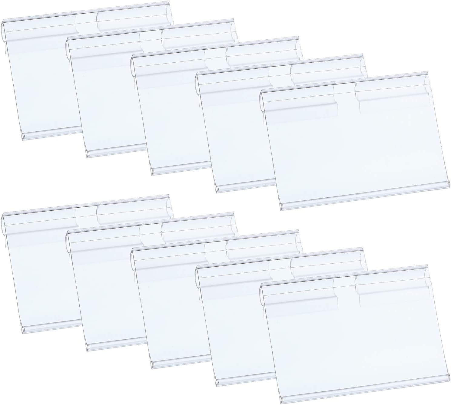 Hestya Price Label Holder Clear Shelf Plastic Limited price Wire Retail Limited price