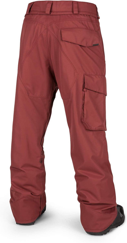 Pantalon Homme De Ski//Snow Ventral Burnt Red Rouge Homme Volcom