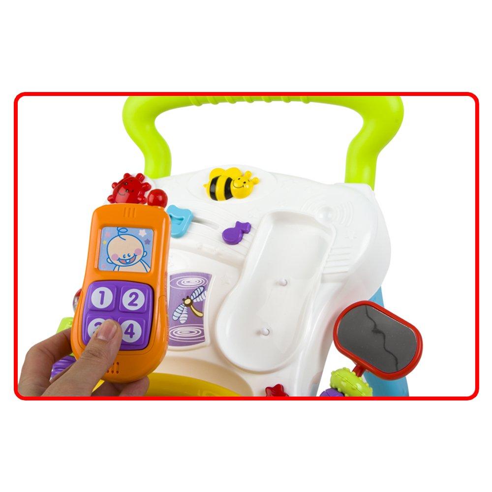 winfun - Andador Musical para bebés de 6-30 Meses (ColorBaby 40550 ...