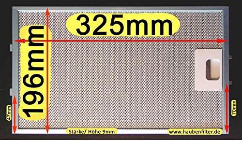 Metal de filtro de grasa 325 x 196 para campana, mejor calidad, 10 de LG.: Amazon.es: Grandes electrodomésticos