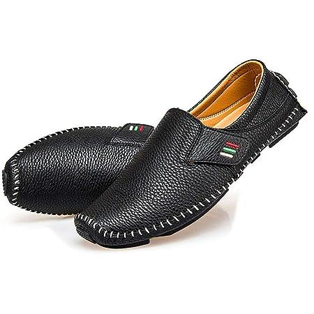 Asseny Hombre Cómodo Informal Zapatos Mocasines Dividido ...
