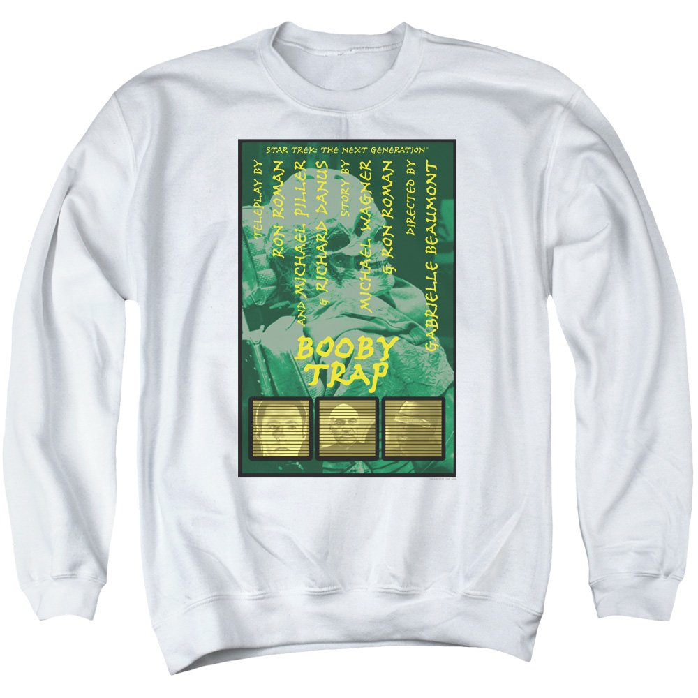 Star Trek - - Men& 039;s TNG Season 3 Episode 6 Pullover