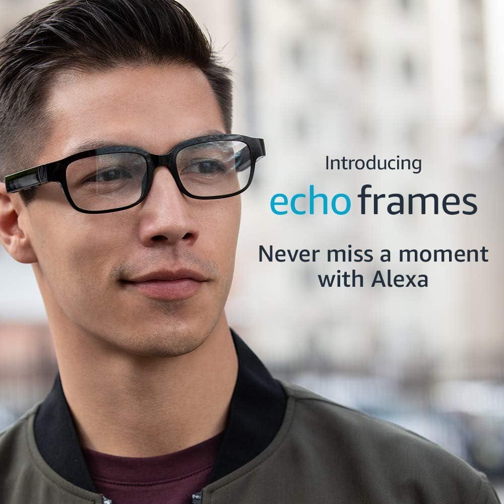 Echo Frames - Eyeglasses with Alexa - Black - A Day 1 Editions pr…