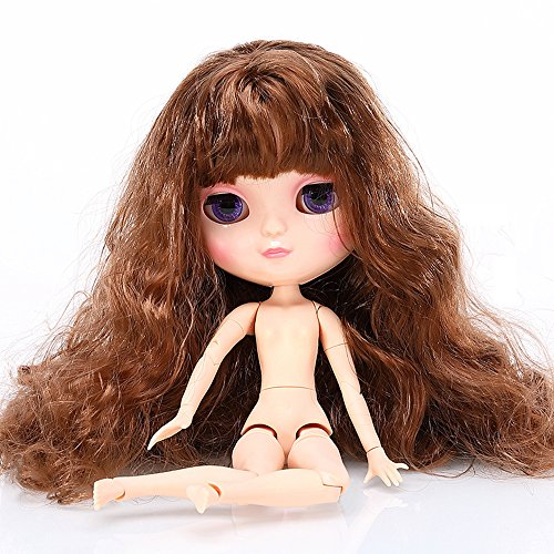 [The Nude Doll is Similar to Blyth BJD Doll, Customized Dolls Can Be Changed Makeup and Dress by DIY, 12 Inch Doll Ball Jointed Dolls Best Gifts For Girls Hobby] (Cute Diy Halloween Costumes Ideas)