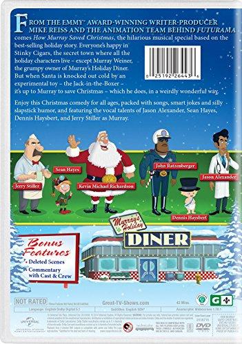 How Murray Saved Christmas.Amazon Com How Murray Saved Christmas Jason Alexander