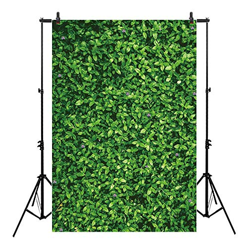 Allenjoy Green Grass Backdrop 5x7ft Nature Spring Purple Flower Background Baby Shower Party Decoration Banner Photo Studio Props Thin Vinyl
