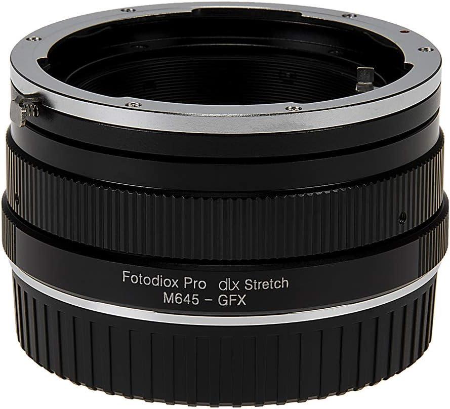 Tilt//Shift Lens Mount Adapter Compatible with Pentax 645 P645 Fotodiox Pro TLT ROKR Mount SLR Lenses to Fujifilm Fuji G-Mount GFX Mirrorless Camera Body