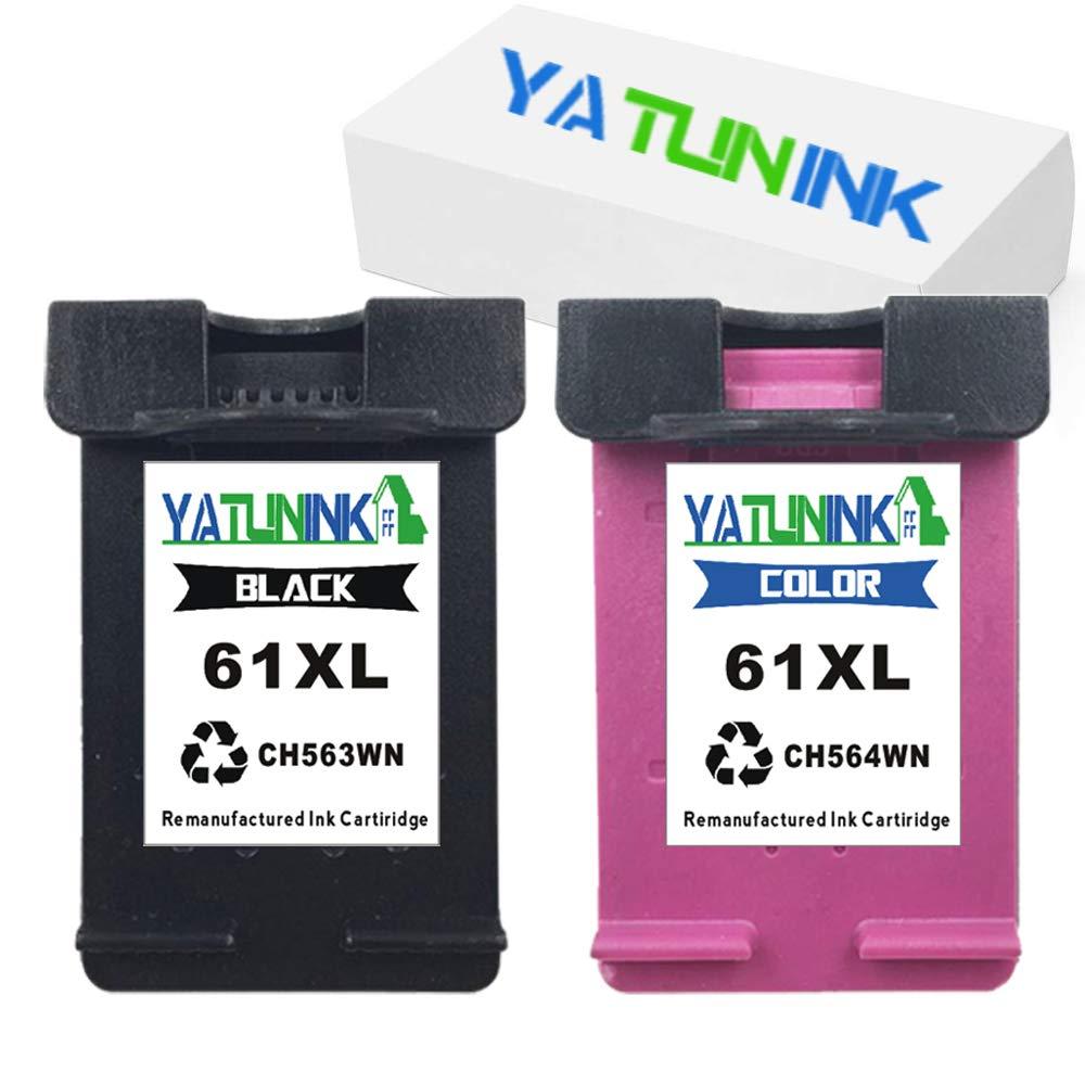 4pks For HP 61XL Ink Cartridge Black /& Color Envy 4500 4501 4502 4503 4504 4505