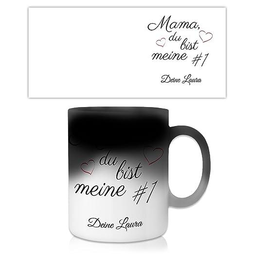 Geschenkidee.de Regalo Idea Cojín Mamá, Du BIST Mis # 1 con ...