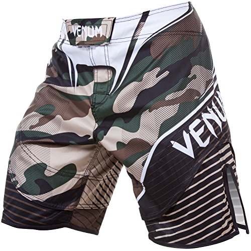 Venum Camo Hero Fight Shorts, Large