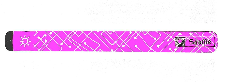 /équipement de Course r/éfl/échissant pour Coureurs /éclairage de Course LED Clignotant et Modes constants Expersol Brassard LED par SeeMe