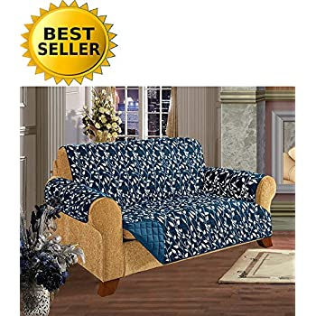 Amazoncom Lush Decor Aubree SlipcoverFurniture Protector for