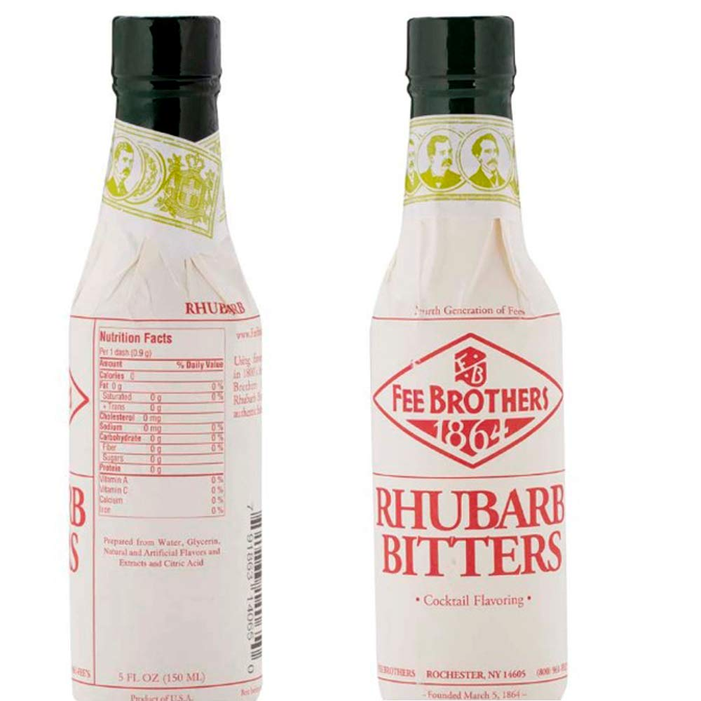 B001D1FPSW Fee Brothers Rhubarb Cocktail Bitters - 5 oz 61Ceg5ecbOL