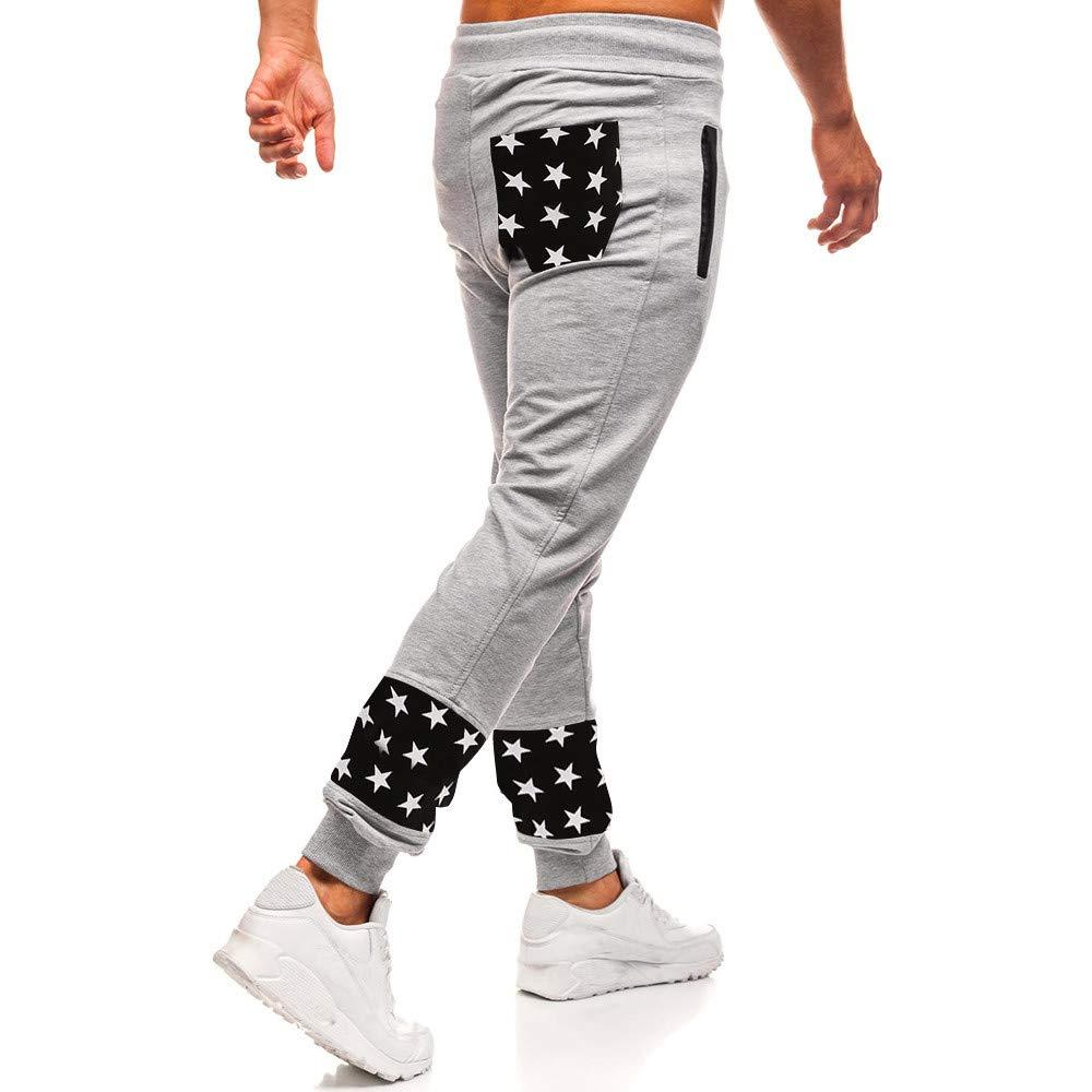 SOMESUN-Pantaloni Sportivi da Uomo Pantaloni Casual Elastico Pantaloni Sport Pantaloni Larghi Tasche Larghi Strappato Stretti alla Caviglia Elasticizzati Lavoro Elegante Sportivo Invernali